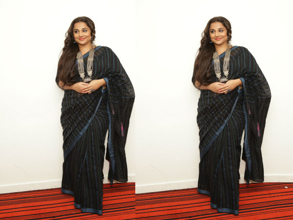 ad8e67feefcffc Vidya Balan Does One More Saree Look & We Cannot Get Enough Of It ...