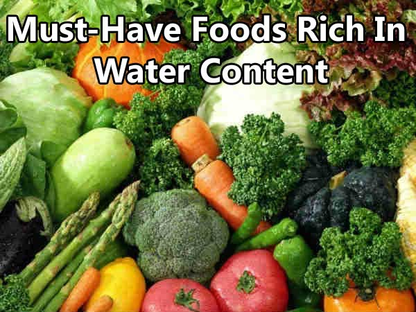 15 Foods Rich In Water Content – A Must Have During Summer!