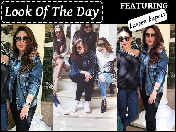 Kareena Steps Out In Zara Denim Jacket For Day Trip With Her Girls