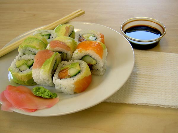 Can you eat sushi during pregnancy for Is sushi raw fish