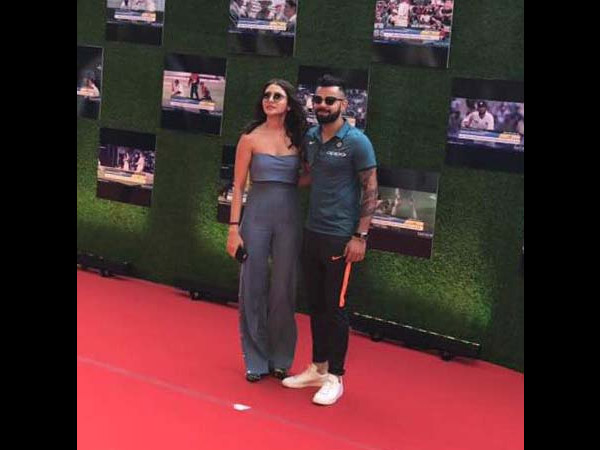 Anushka Sharma Steals The Show Again In A Grey Jump Suit