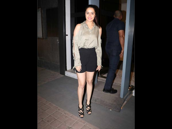 shraddha kapoor at half girlfriend screening