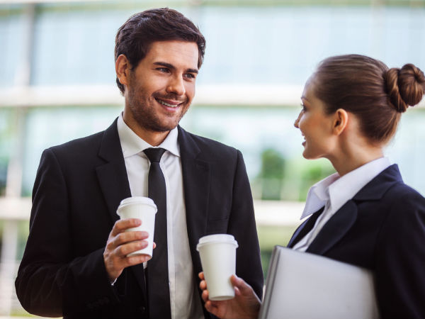 Signs your coworker is into you
