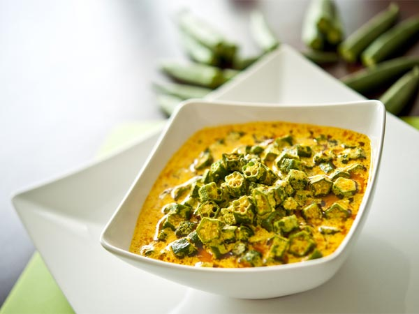 Vegetarian recipes vegetarian cooking recipes vegetarian food hyderabadi dahi bindi masala forumfinder Choice Image
