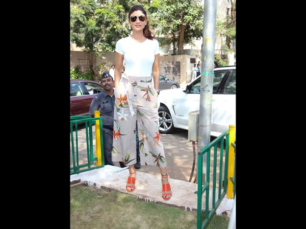shilpa shetty at yoga park launch