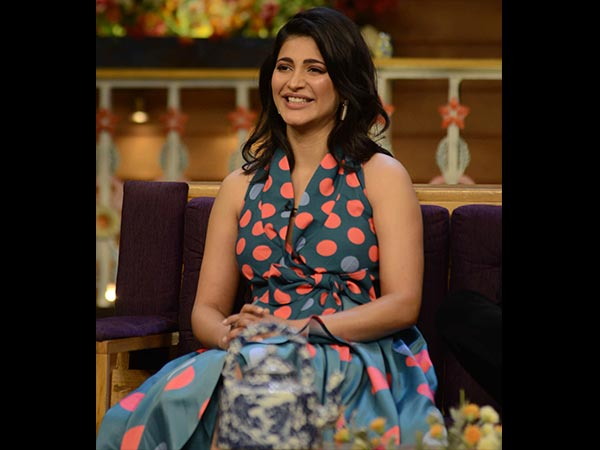 Shruti Haasan's Cuter Avatar; This Time In Polka Dots