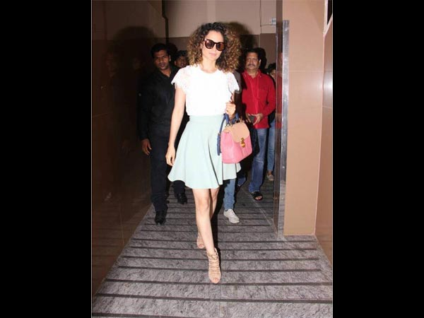 Kangana Ranaut Goes Pastel To Beat The Summer Heat
