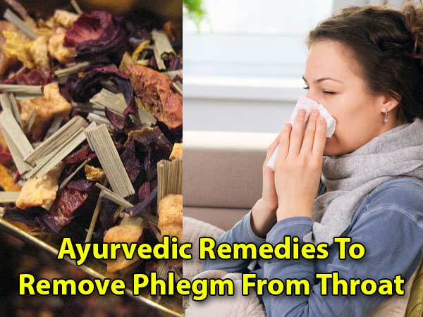 how to get rid of catarrh and phlegm