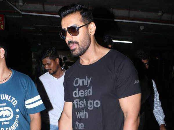 John Abraham's Airport Look Is Full Of Swag