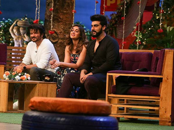 mubarakan promotions at the kapil sharma show