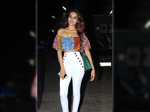 nidhhi agarwal at mubarakan screening