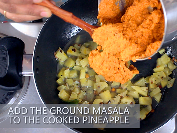 Pineapple Gojju Hebbar S Kitchen