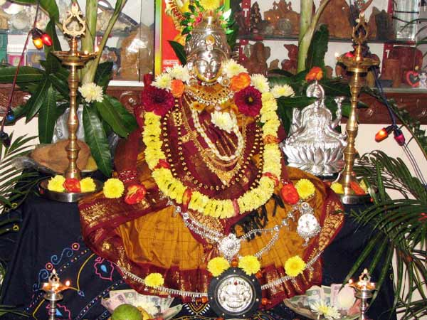 Varamahalakshmi Pooja Muhurtam And The Pooja Samagri