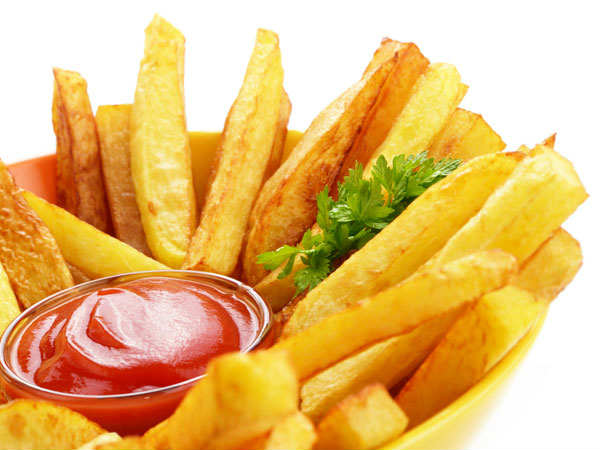 are french fries healthy