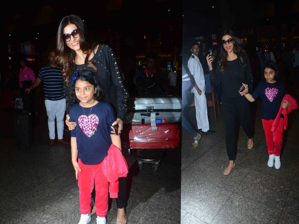 sushmita sen with her daughter