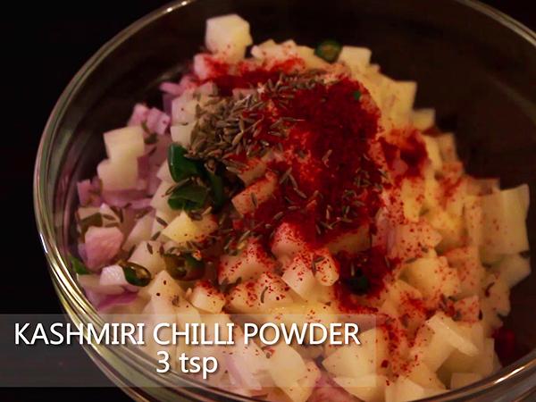 how to make potato pakora