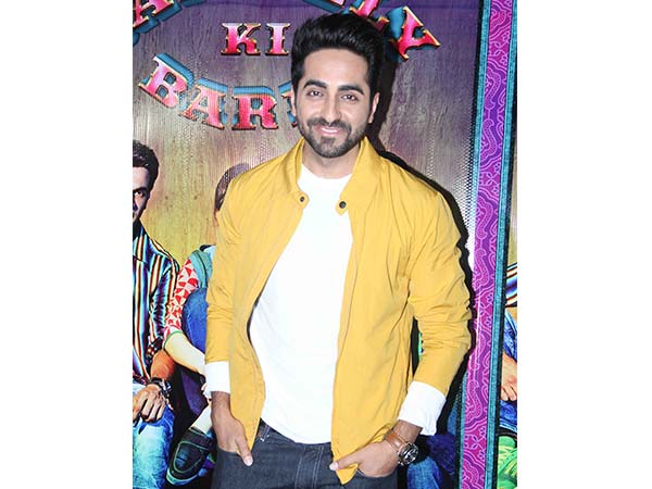 Ayushmann Khurrana At His Upcoming Film's Trailer Launch Looking Like A True Style Icon