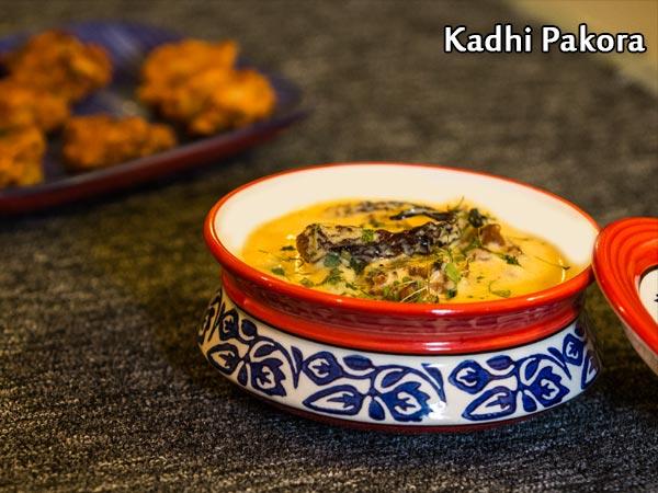 Kadhi Pakora Recipe: How To Make Rajasthani Kadhi Pakora