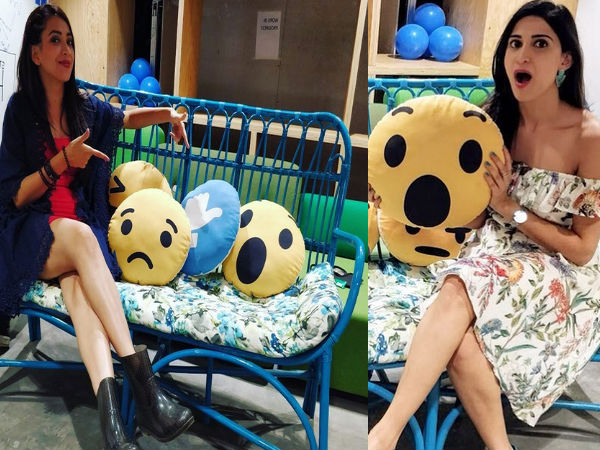 Lipstick Under My Burkha Stars Become Stylishly Goofy At FB Office