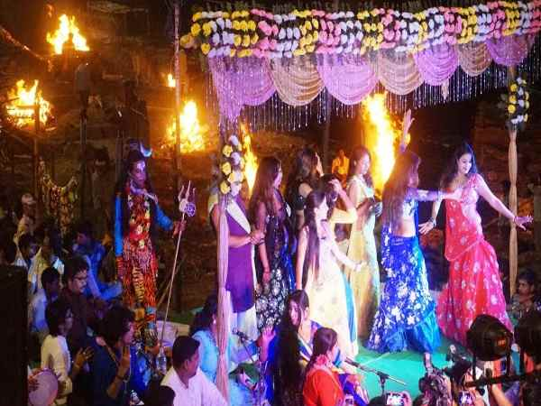 Image result for sex workers in varanasi dancing in cremation ground
