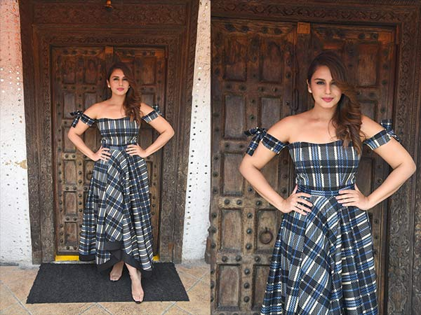 huma qureshi for movie promotion