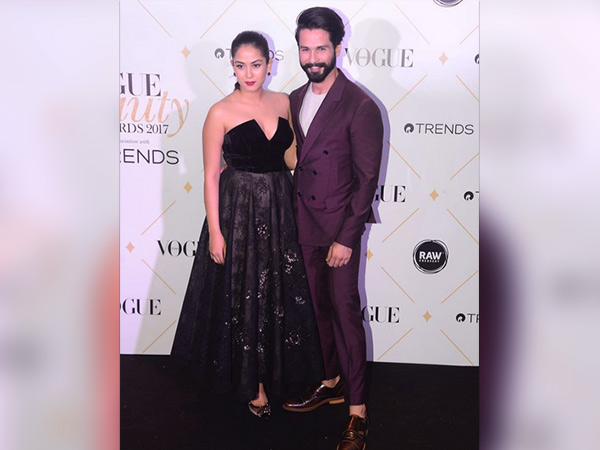Vogue Beauty Awards 2017: Shahid And Mira Set Couple Goals