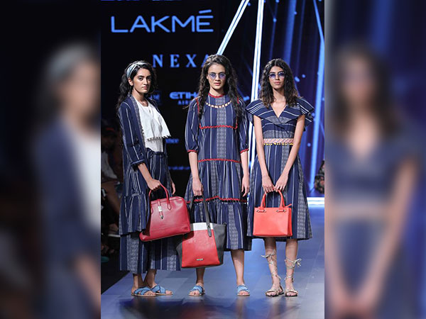 Rhea Chakraborty was the showstopper for Caprese at the Lakme Fashion Week, Winter/Festive 2017. Among all the models that showcased the bright and classy bag collection by Caprese, and walked the ramp with swag and style, Rhea too carried a fancy handbag from Caprese and flaunted it stylishly. Rhea wore a frock dress which had pretty ruffled sleeves and carried the dark peach coloured handbag which totally matched with the dress. Rhea looked very pretty and also too cute in the super cool style file.