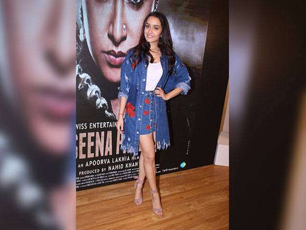 shraddha kapoor at a song launch of haseena parker