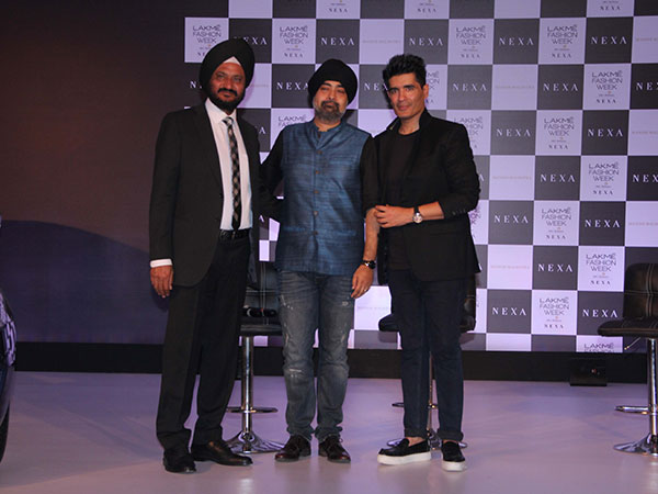manish malhotra at lakme fashion week