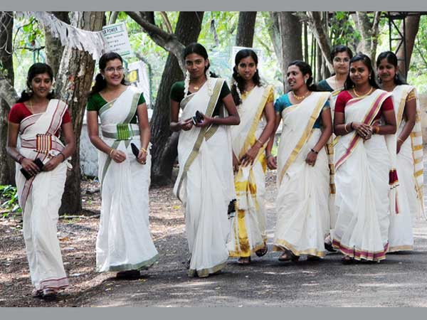Significance Of White Saree During Onam