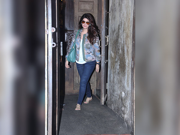 twinkle khanna spotted in mumbai