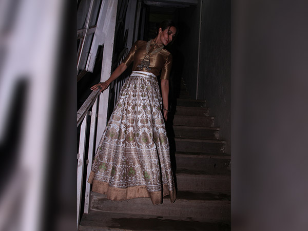 malaika arora spotted at mehboob studio for a photoshoot