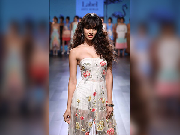 The Stunning Disha Patani Sizzled In Ritu Kumar Label