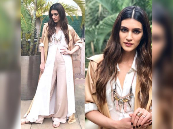 kriti sanon in new delhi