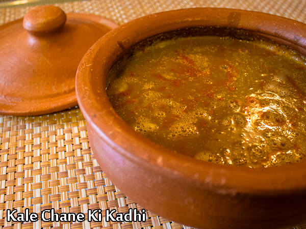 Kale Chane Ki Kadhi Recipe: How To Make Jodhpuri Kala Chana Kadhi