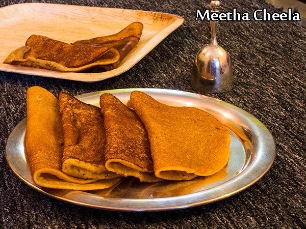 Meetha Cheela Recipe