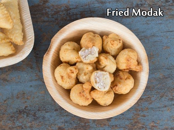 Fried Modak Recipe: How To Make Karnataka-style Modaka