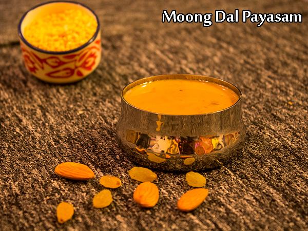 Moong Dal Payasam Recipe | Hesaru Bele Payasa Recipe | Pasi Paruppu Payasam Recipe