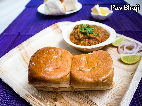 Top street food recipes home made tasty food recipes easy street 1pav bhaji recipe how to make mumbai style pav bhaji forumfinder Images