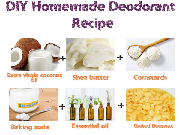 diy homemade deodorant recipe