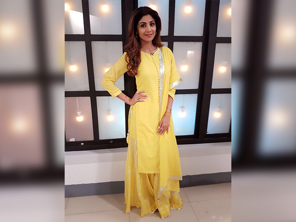 shilpa shetty style for an event