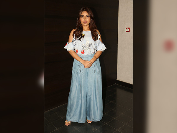 bhumi pednekar style during her movie promotion