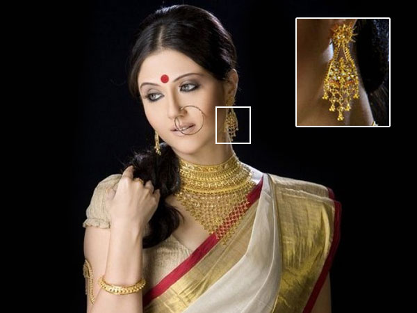 Traditional Bengali Jewellery Especially For Durga Puja