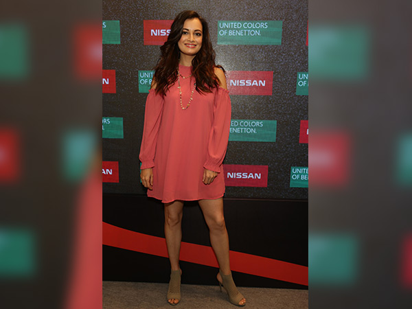 dia mirza at nissan micra latest edition launch
