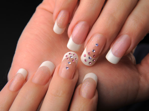 French Manicure At Home Diy French Manicure How To Do French