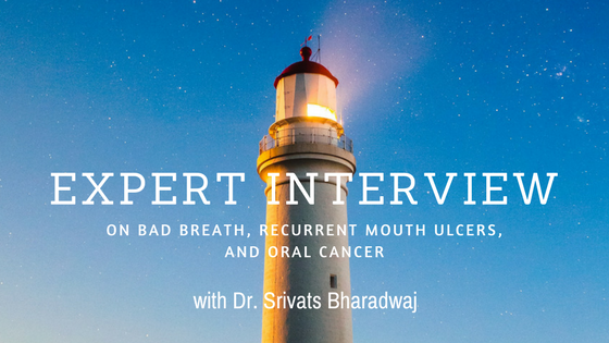 bad breath mouth ulcer oral cancer