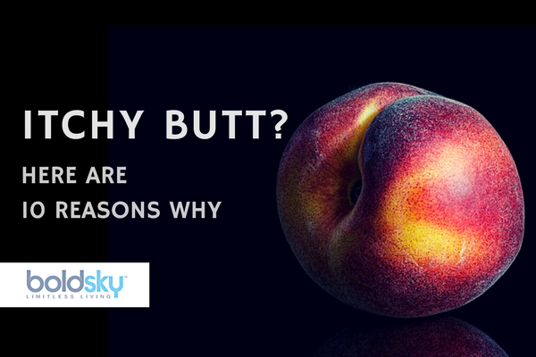 why butt itches