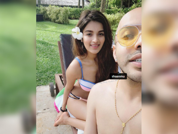 nidhhi agerwal holidays in goa