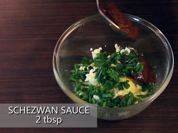 schezwan sandwich recipe