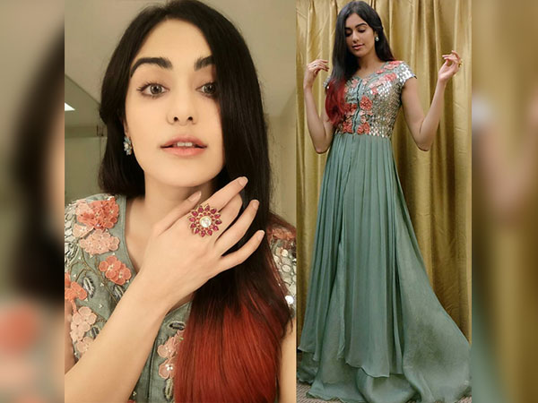 adah sharma in traditional attire